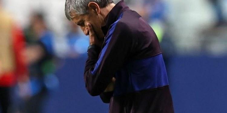 Quique Setién es destituido de la dirección técnica del Barcelona 1