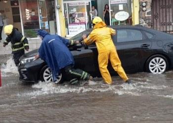 Lluvia intensa azota la zona norte de Cuernavaca 6