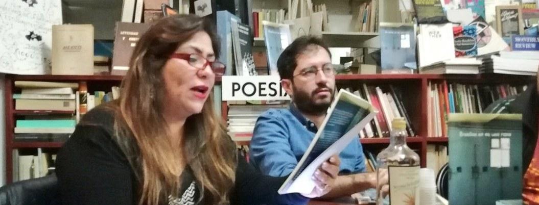"""""""La horrible verdad es que la poesía no obedece las órdenes de nadie"""": María Rivera 3"""