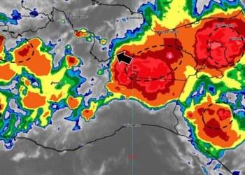 Lluvias aisladas se mantendrán en Tabasco, por frente frío número 13 3