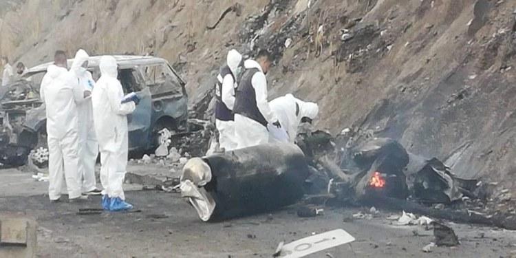 Muere la única sobreviviente de la explosión de pipa en autopista Tepic-Guadalajara 1