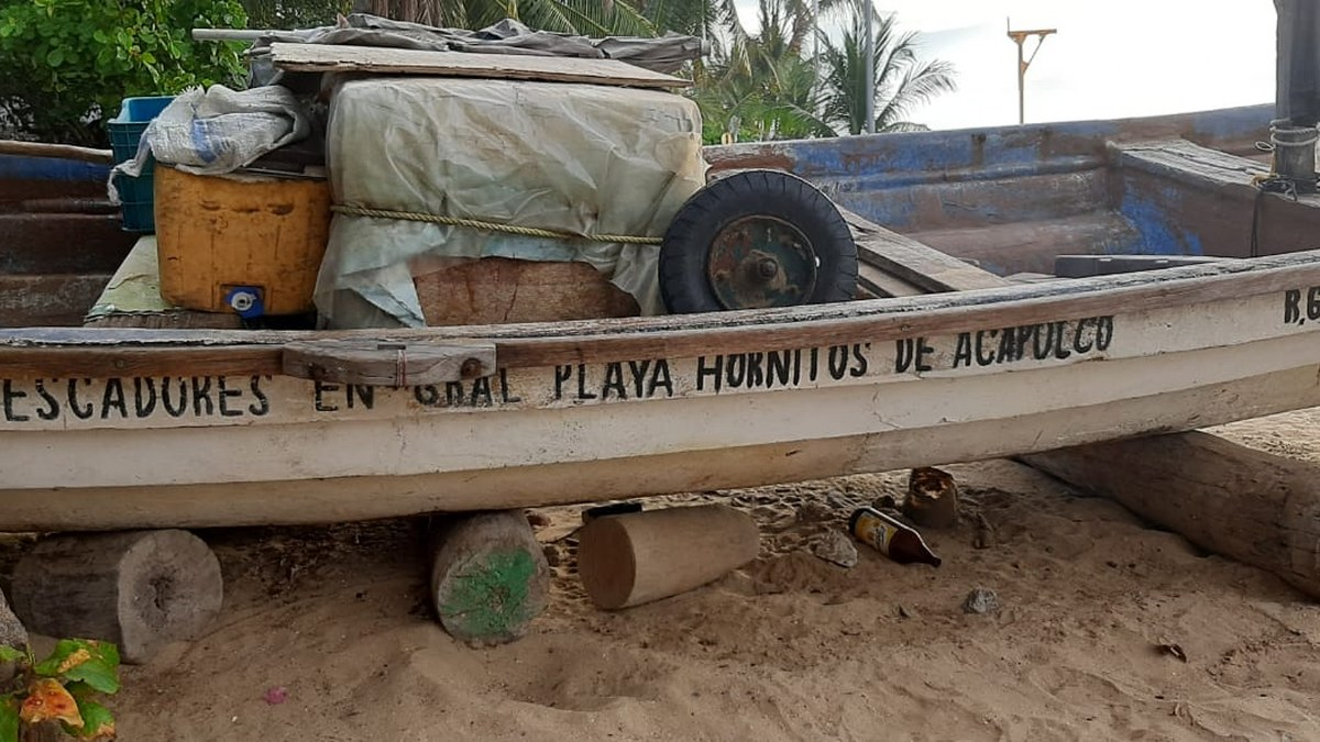 'Las congojas para mí no existen', ni por el covid, dice pescador de Acapulco 2