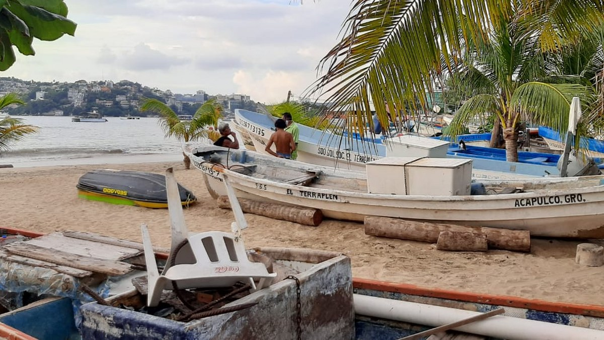 'Las congojas para mí no existen', ni por el covid, dice pescador de Acapulco 3