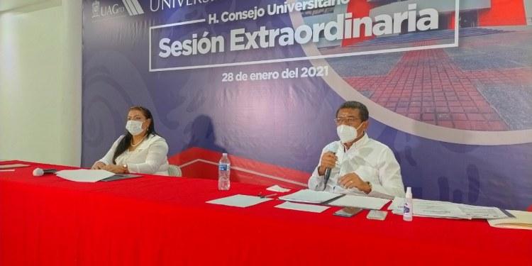 La UAGro nombrará rector interino y aplaza proceso electoral 6 meses por Covid 1