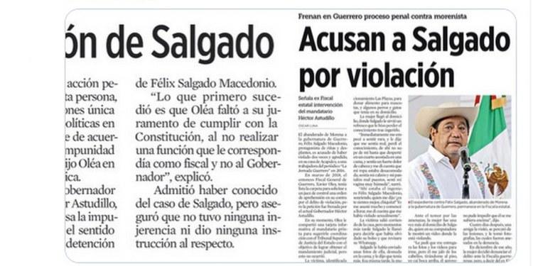 Con Félix Salgado, Morena reafirma discurso machista y violencia feminicida 1