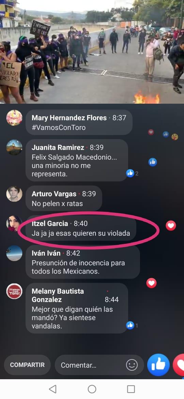 Amenazan a feministas que exigen justica para víctimas de caso Félix Salgado 2
