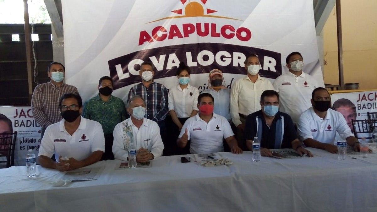 No es de ningún partido, dice Joaquín Badillo; busca candidatura en Morena por Acapulco 1