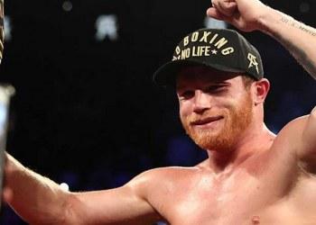 Canelo Álvarez retiene título mundial; acaba con el turco Avni Yildirim en 3 rounds 2