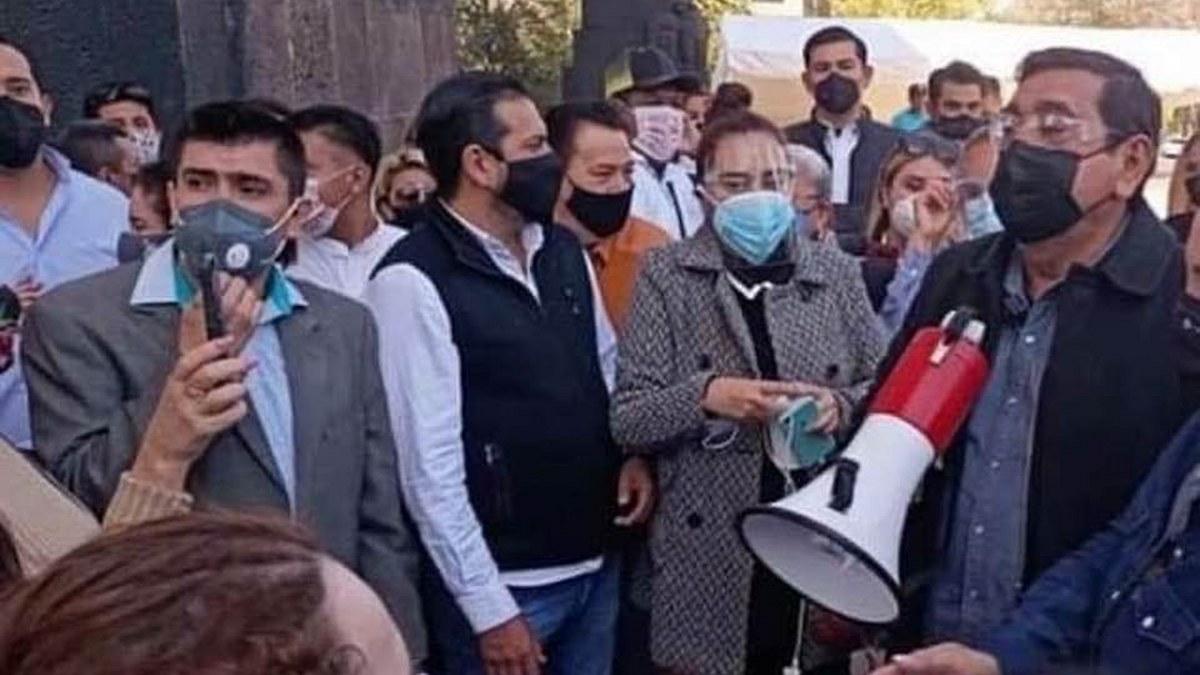 CNHJ impide a abogados de víctima formular preguntas a Félix Salgado; cambia sede para protegerlo 1