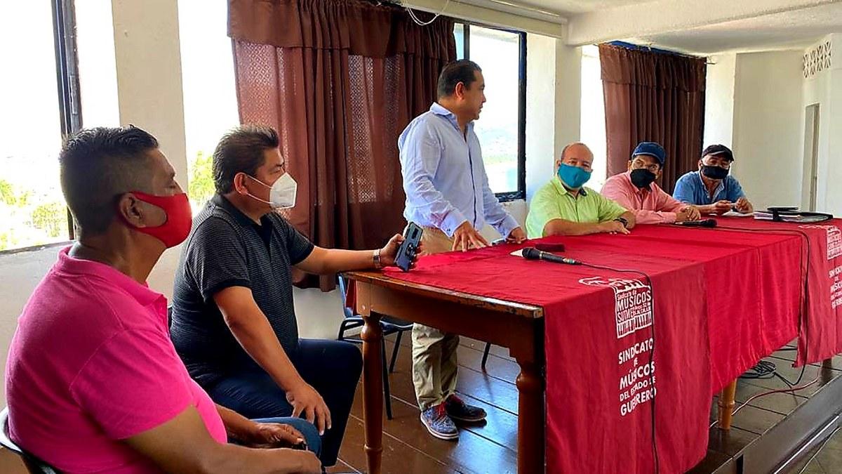 Sindicato de Músicos reconoce apoyo de Javier Solorio a la educación artística de Acapulco 1