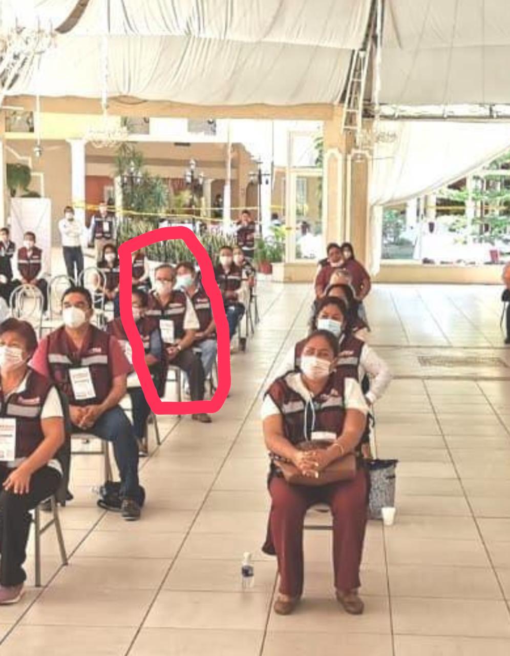 Funcionarios de Bienestar participaron en acto político de Félix Salgado en Chilpancingo 2