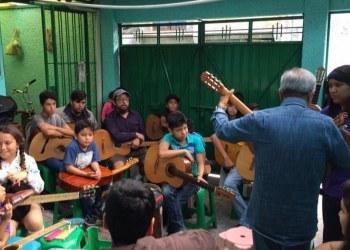 Impulsan la creación de la primera Escuela de Música Comunitaria en México 2