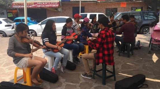 Todos tenemos un tiempo para la música, dice alumna de Jóvenes Orquestas 4