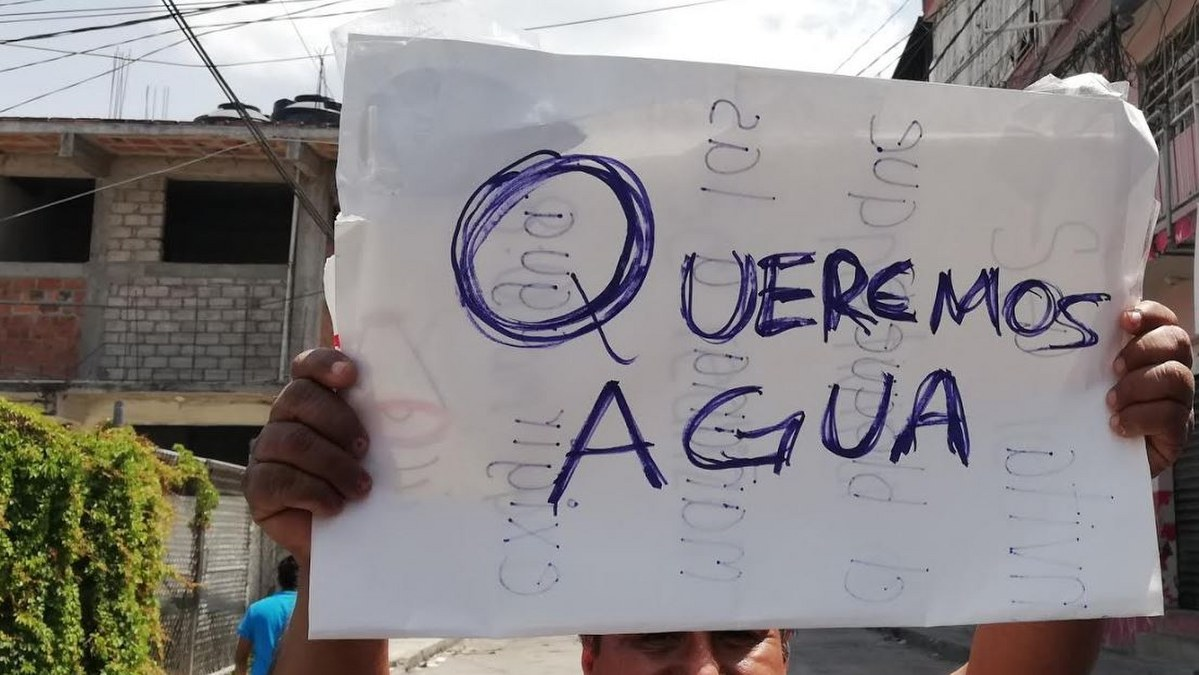 Toño Gaspar promete agua a ciudadanos de Chilpancingo y no les cumple 2