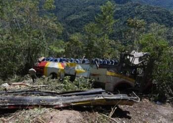 autobús desbarranca en Bolivia