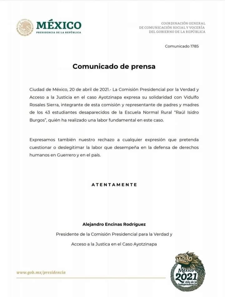Vidulfo Rosales politizó tema de los 43 con Félix Salgado y ahora se victimiza 1