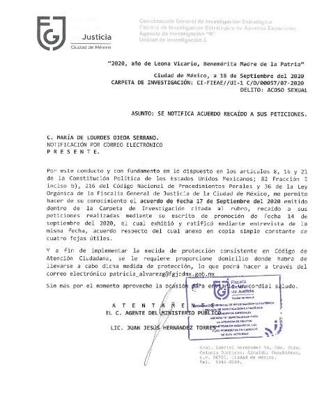 Abogado de Félix Salgado es también un acosador sexual; fue denunciado por alumna 3