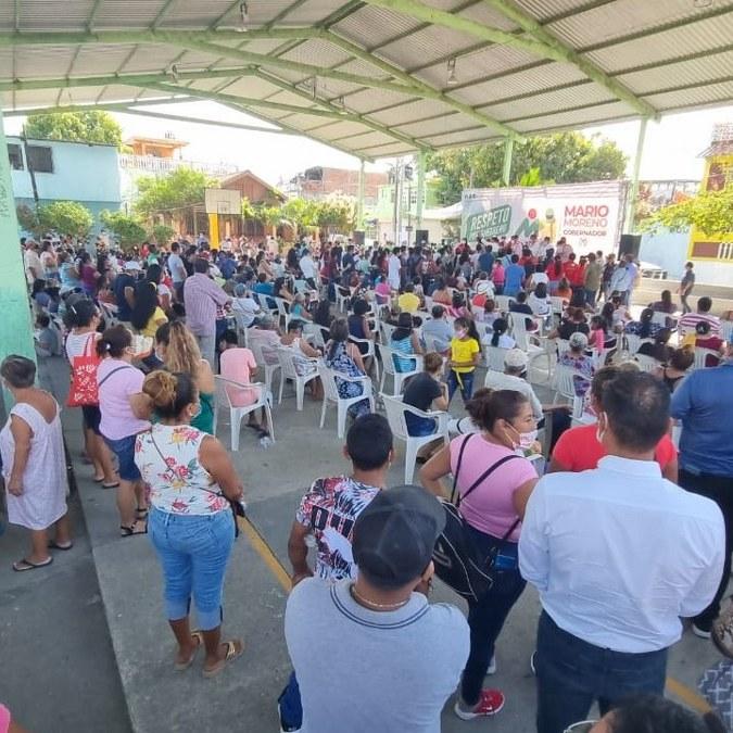 Mario Moreno, el gobernador del pueblo, le dicen en Acapulco al candidato de la alianza PRI-PRD 2