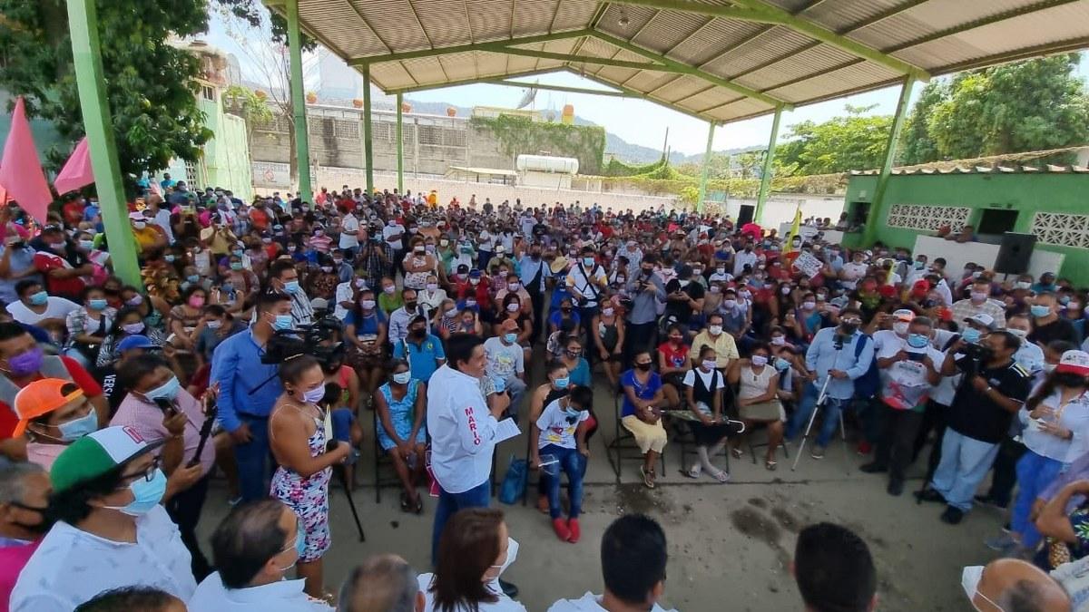 Movimiento Campesino de Sebastián de la Rosa va con Mario Moreno para gobernador 1