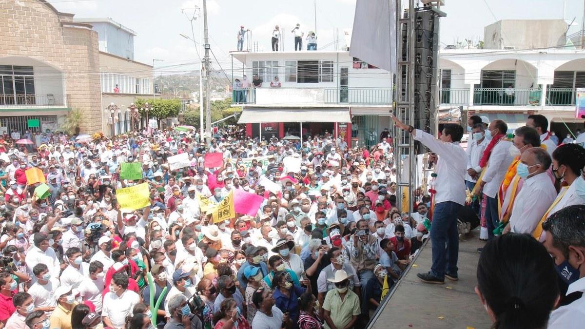 Mario Moreno será el gobernador de la salud; miles lo respaldan en Ometepec 1