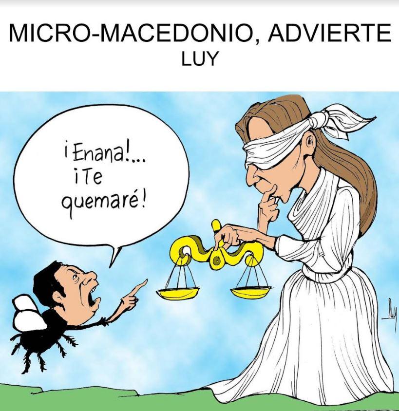 Micro-macedonio, advierte | Luy 2