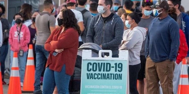 Estados Unidos alcanza 70% de vacunados con al menos una dosis 1