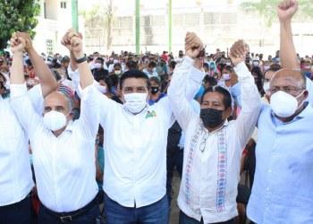 Movimiento Campesino de Sebastián de la Rosa va con Mario Moreno para gobernador 9