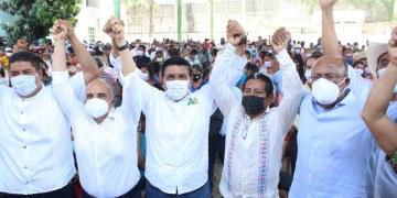 Movimiento Campesino de Sebastián de la Rosa va con Mario Moreno para gobernador 7