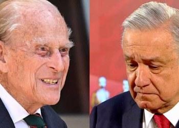 López Obrador manda el pésame por la muerte del príncipe Felipe 5