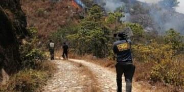 Bomberos sofocan más de 15 incendios forestales en Acapulco 9