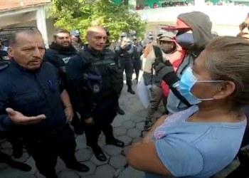 """Pobladores """"cesan"""" al SSP y a policías de Xoxocotla, Morelos 8"""