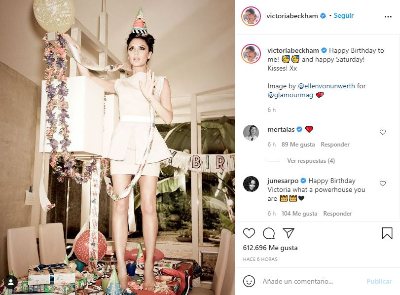 ¡Diosa! Victoria Beckham ccelebra sus 47 años luciendo de 20 2