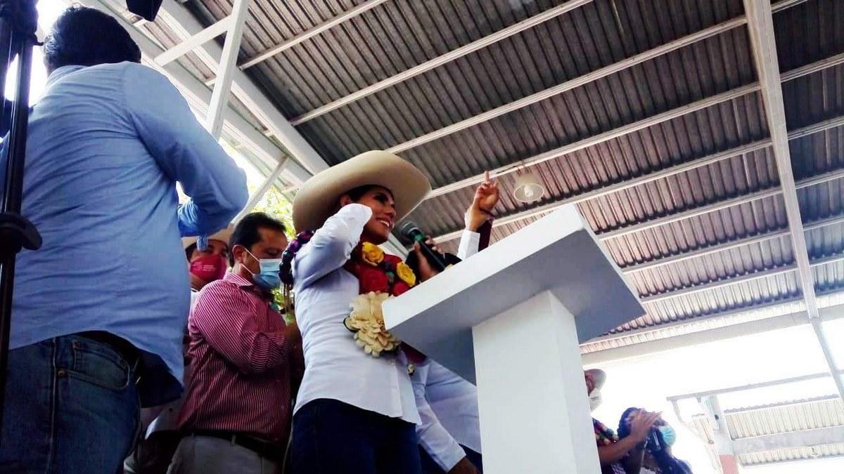 Evelyn Salgado arranca campaña opacada por su padre, lee discurso de 20 minutos 2