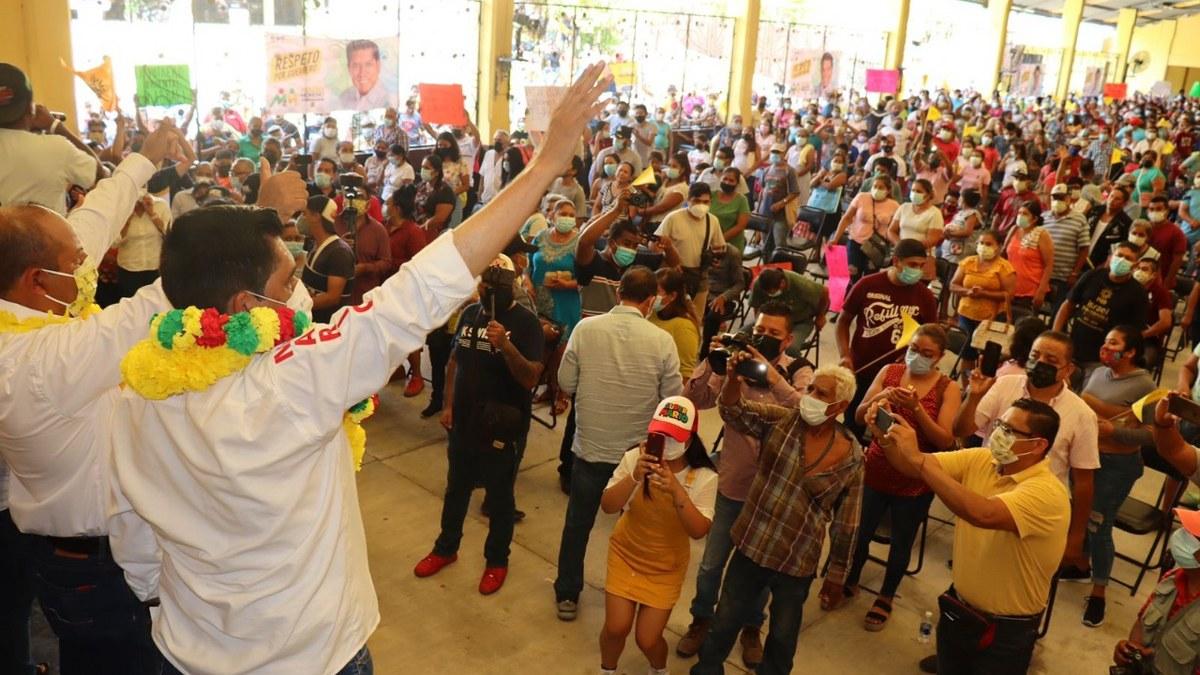 """""""Vamos a llenar las urnas de votos; Guerrero merece un mejor futuro"""": Mario Moreno 1"""