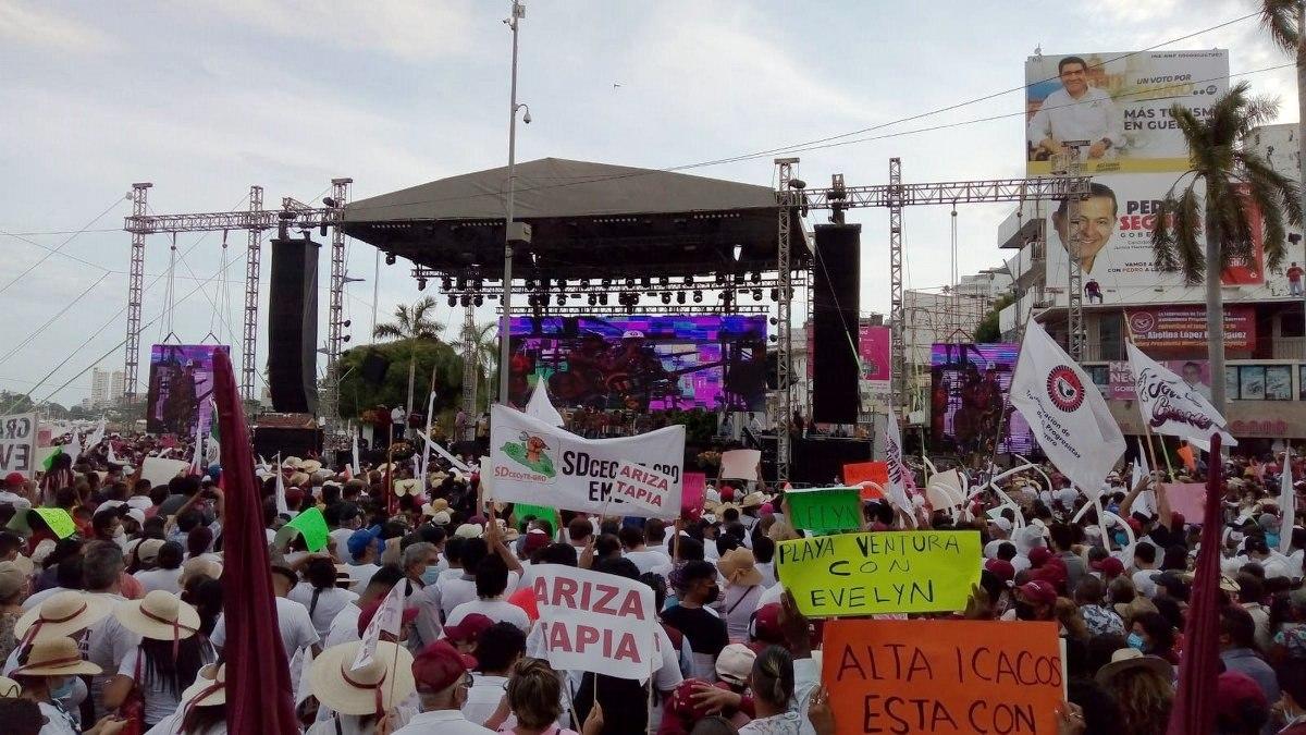 Hija de Félix Salgado cierra campaña en Acapulco sin superar divisiones y rencores morenistas 1