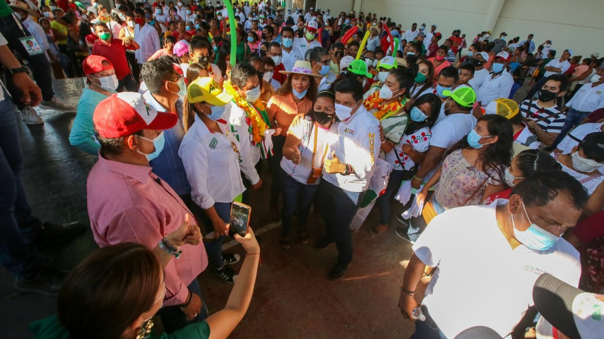"""""""Vamos a ganarle a quien nos pongan"""", afirma Mario Moreno, candidato del PRI-PRD 1"""