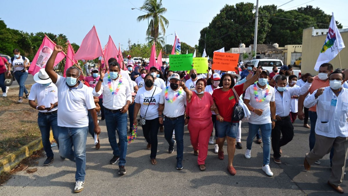 Cuadros de MC y Morena se suman a la alianza PRI-PRD de Mario Moreno y Ricardo Taja 2