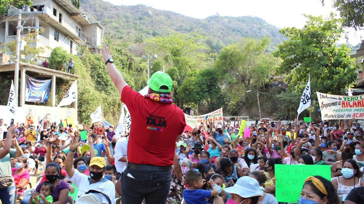 Ayudará al presidente AMLO, afirma Taja, le entregará buenas cuentas en Acapulco 1