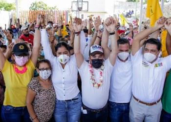 Ricardo Taja se compromete a renovar la Infonavit Alta Progreso; el gobierno actual los abandonó 2