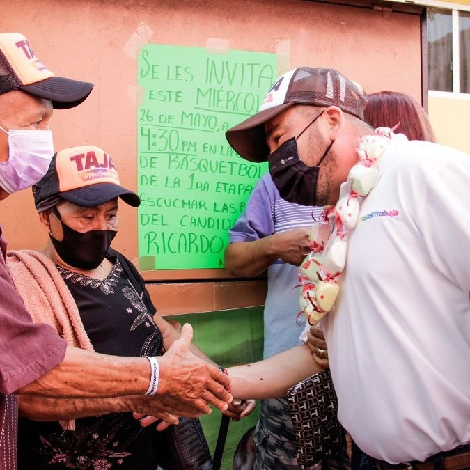 Ricardo Taja se compromete a renovar la Infonavit Alta Progreso; el gobierno actual los abandonó 1