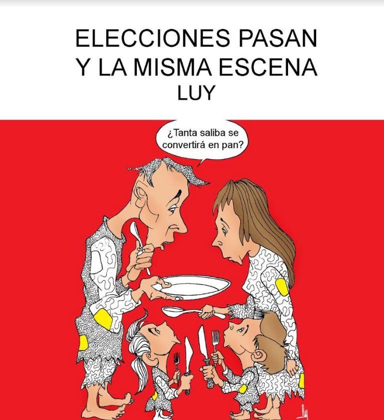 Elecciones pasan y la misma escena   Luy 2
