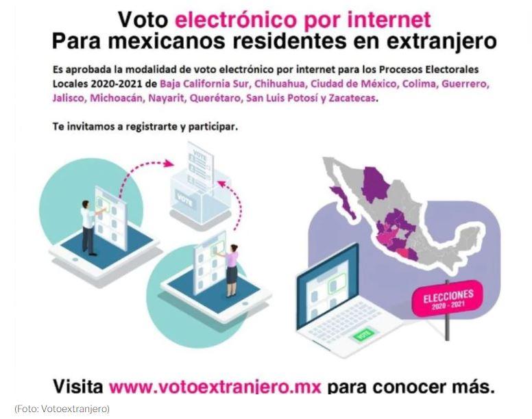 Ya hay fecha y hora para que mexicanos en el extranjero emitan voto electrónico 1