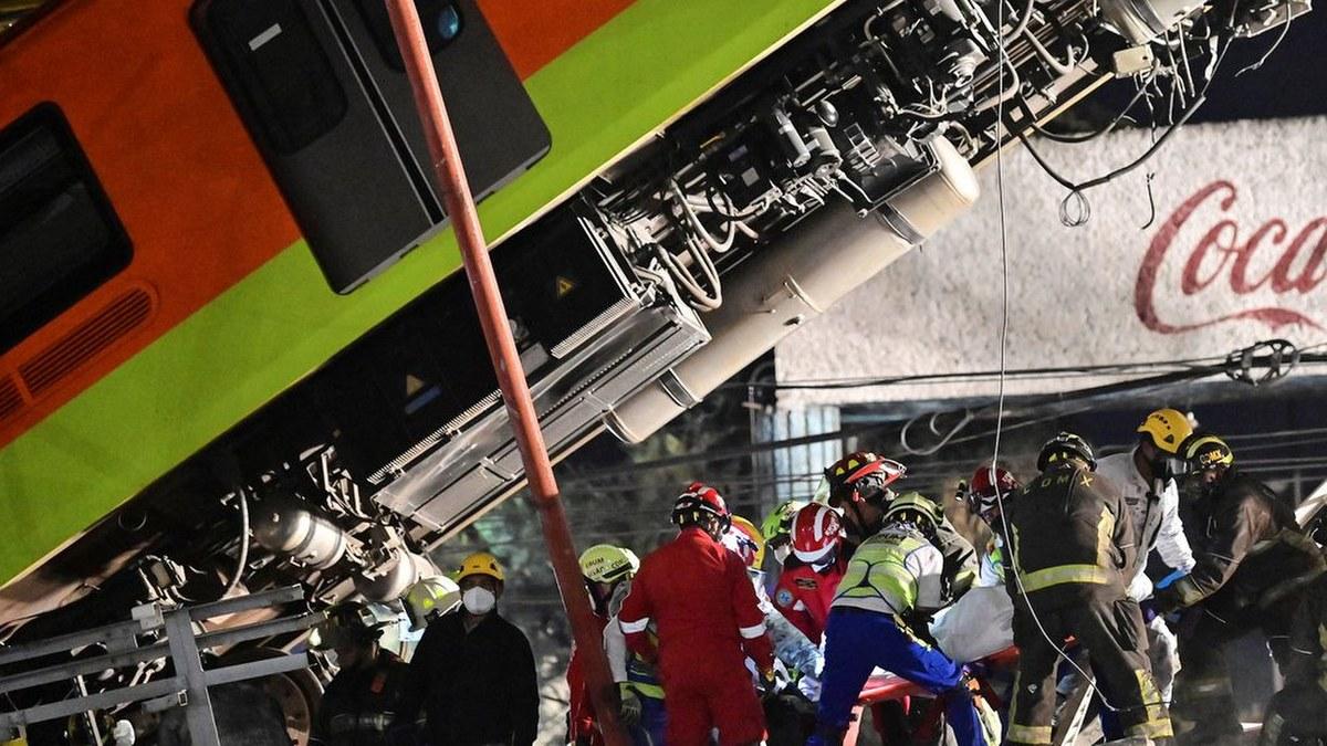 Las impactantes imágenes del accidente de la Línea 12 del Metro 10