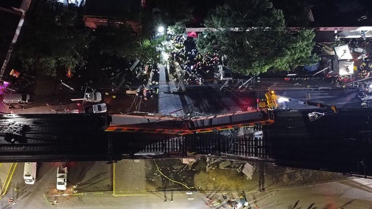 Las impactantes imágenes del accidente de la Línea 12 del Metro 8