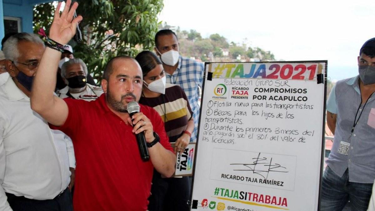 Transportistas Grupo Sur respaldan la alianza PRI-PRD con Ricardo Taja y Mario Moreno 2