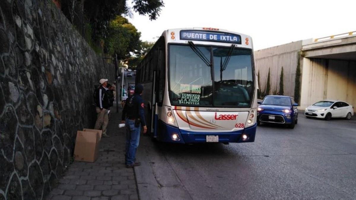 Trasporte público en Morelos opera al 100% de su capacidad 1