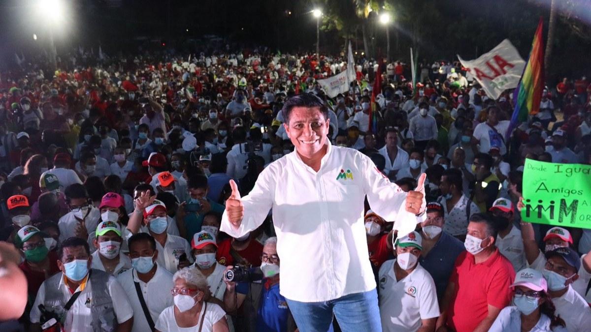 El 6 de junio hay una cita con la historia de Guerrero; Mario Moreno llama a los jóvenes a votar 1