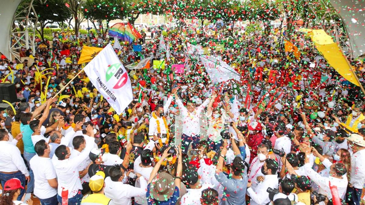 Querido por los guerrerenses; Mario Moreno afirma que las raterías se acabaron; habrá gobierno honesto 1