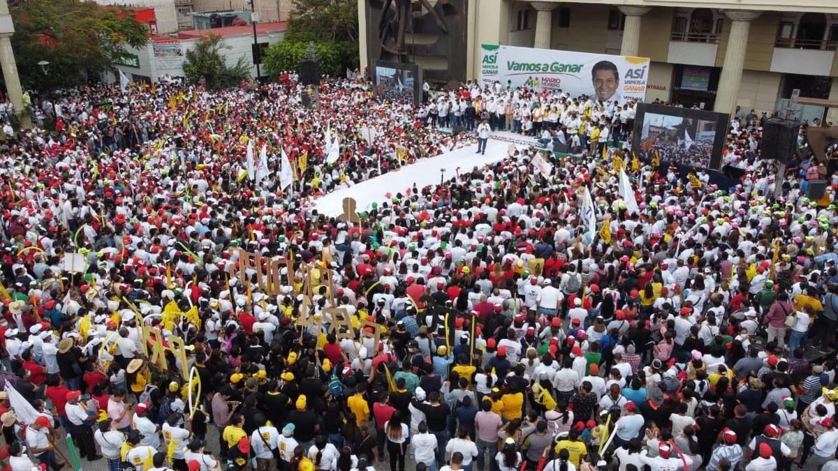 Cierre aplastante; Mario Moreno demuestra por qué será gobernador; reúne a 30 mil en Chilpancingo 2