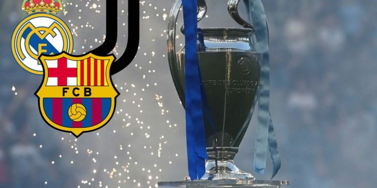 Real Madrid, Barcelona y Juventus